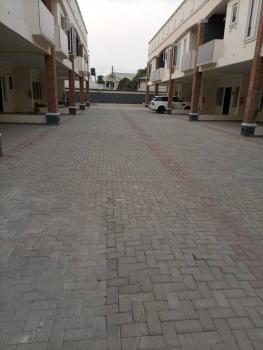 Brand New Luxury 4 Bedroom Terrace Duplex Service Apartment, By Blenco Road, Sangotedo, Ajah, Lagos, Terraced Duplex for Rent