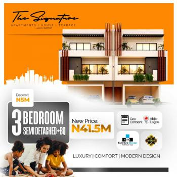 3 Bedroom Semi Detached +bq, Abijo, Lekki, Lagos, Semi-detached Duplex for Sale