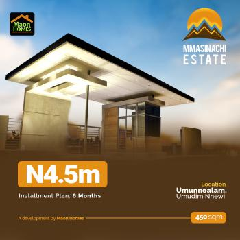 Land, Mmasinachi Estate, Umunnealam, Umudim Nnewi, Nnewi, Anambra, Residential Land for Sale