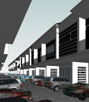 Luxury Built 3 Bedrooms Terraced Duplex, Orchid Road, Lekki Expressway, Lekki, Lagos, Terraced Duplex for Sale
