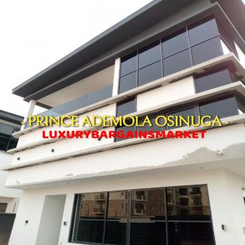 Newly Built Waterview Fully Detached 6 Bedrooms Villa, Banana Island Estate, Ikoyi, Lagos, Detached Duplex for Sale