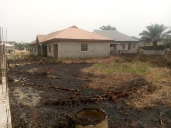 a Plot of Land with Structure, Chima Street, United Estate, Sangotedo, Ajah, Lagos, Residential Land for Sale