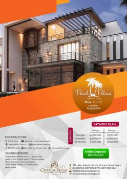 Total Dry Land with Cofo in a Serene Environment with 100% Development, Abijo Gra, Abijo, Lekki, Lagos, Residential Land for Sale