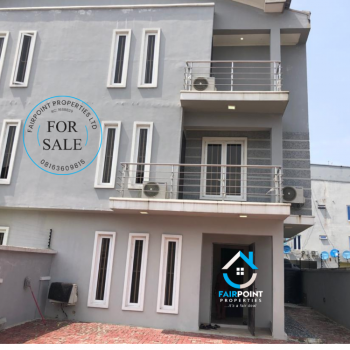 4 Bedrooms Luxury Semi- Detached Furnished Duplex with Bq on 2 Floors, Lekki Phase 1, Lekki, Lagos, Semi-detached Duplex for Sale