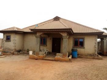 4 Bedroom Detached Bungalow Built on 2 Plots, Idiroko Road, Atan Ota, Ado-odo/ota, Ogun, Detached Bungalow for Sale
