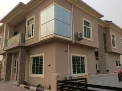 Luxury 4 Bedroom House With A Bq, Osapa, Lekki, Lagos, 4 bedroom, 5 toilets, 4 baths Detached Duplex for Sale