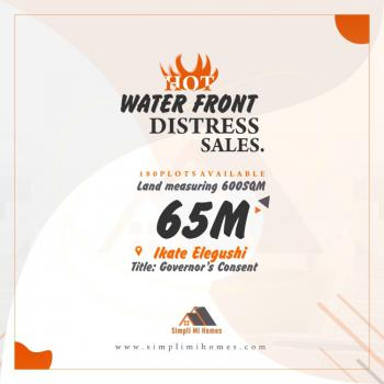 Affordable Water Front Land, Ikate, Lekki, Lagos, Residential Land for Sale