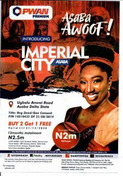Land, Imperial City Estate  Ugbolu, Asaba, Delta, Residential Land for Sale