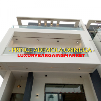 Prince Ademola Deals! New 6 Bedroom Semi-detached + Soundproof Windows, Ikoyi, Lagos, Semi-detached Duplex for Sale