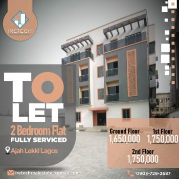 2 Bedroom Flat, Ajah Estate, Lekki, Lagos, Self Contained (single Rooms) for Rent