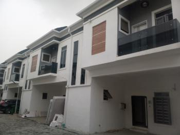 Luxury 4 Bedroom Terrace Duplex in Serviced Estate, 2nd Toll Gate, Lekki, Lagos, Terraced Duplex for Rent