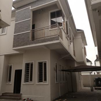 Very Spacious 4 Bedrooms Fully Detached Duplex with Bq, Chevron, Lekki Phase 2, Lekki, Lagos, Semi-detached Duplex for Rent
