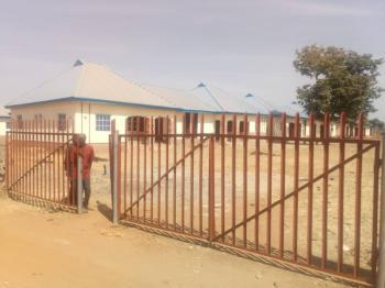 3 Bedrooms Semi Detached Bungalow (2-wings), Air Force Base Layout, Before Orange Market, Karu, Nasarawa, Semi-detached Bungalow for Sale