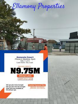 Land Inside an Estate Close to Cooperative Villa, Cooperative Villa, Badore, Ajah, Lagos, Residential Land for Sale