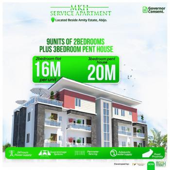3 Bedroom Penthouse, Abijo, Beside Amity Estate, Abijo, Lekki, Lagos, Block of Flats for Sale