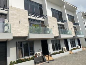 4 Bedrooms Terraced Duplex with a Room Bq (furnished), Off Castle and Temple, Lekki Phase 1, Lekki, Lagos, Terraced Duplex for Sale
