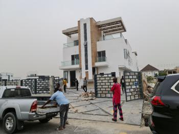 Waterfront View Newly Built 5 Bedroom Fully Detached House, Pinnock Beach Estate, Osapa, Lekki, Lagos, Detached Duplex for Sale