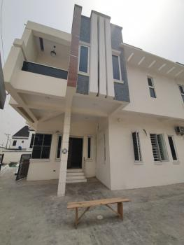 Brand New Fully Serviced 4 Bedroom Semi Detached Duplex with Bq, Royal Pine Estate, Chevron Toll Gate, Lafiaji, Lekki, Lagos, Semi-detached Duplex for Rent