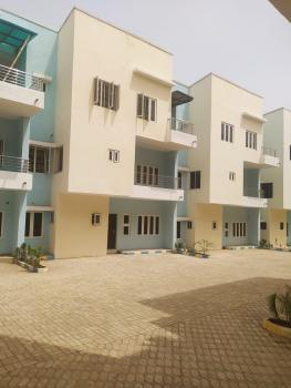 Brand New Exquisitely Finished 6 Bedrooms Terrence Duplex, Tarred Road, Wuye, Abuja, Terraced Duplex for Sale