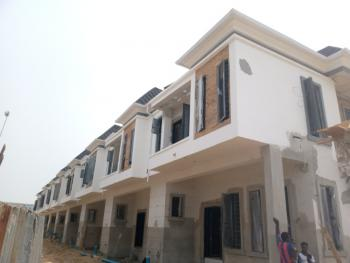 Newly Built 4 Bedroom Terrance Duplex at 2nd Toll Gate, Orchid Road, Lekki, Lagos, Terraced Duplex for Sale