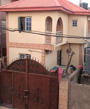 Relatively New 3 Bedroom Duplex, Off College Road, Ogba, Ikeja, Lagos, Detached Duplex for Sale