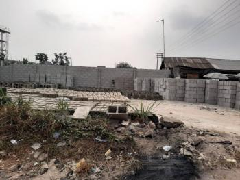 Well Accessed and Table Dry Land on The Major Road., Sars Road, Port Harcourt, Rivers, Mixed-use Land for Sale