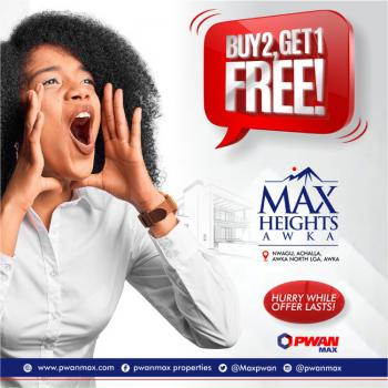 Max Heights, Max Heights Estate, Anambra, Anambra, Mixed-use Land for Sale