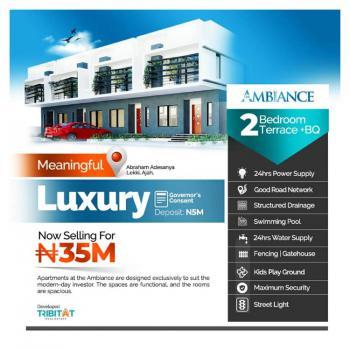 Luxuy 2 Bedroom Duplex, Abraham Adesanya, Ajiwe, Ajah, Lagos, Terraced Duplex for Sale