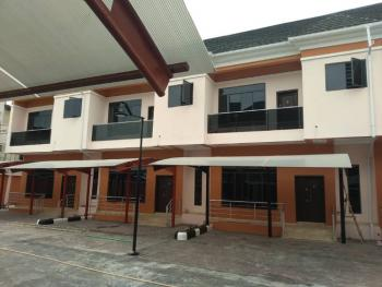 a Nicely Built 4 Bedroom Terrace with a Bq, Ikate Elegushi, Lekki, Lagos, Terraced Duplex for Rent
