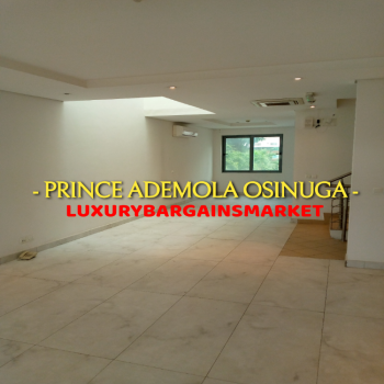Well Sized Serviced 4 Bedroom Semi-detached Terrace House + 2rooms Bq!, Old Ikoyi, Ikoyi, Lagos, Terraced Duplex for Rent