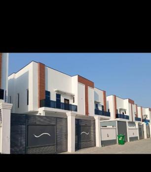 Luxury Built Furnished Brand New 4 Bedroom with Bq, Lekki Phase 2, Lekki, Lagos, Semi-detached Duplex for Rent