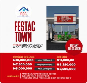 Land, Doc Gardens, Festac, Amuwo Odofin, Lagos, Residential Land for Sale