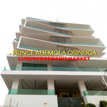 One of The Most Notable Mega Oceanview 5 Bedroom Penthouse Apartments, Ikoyi, Lagos, Flat / Apartment for Sale