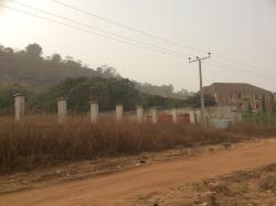 Fenced 2200sqm Land, 2nd Plot Off New Banex Rd to Gwarinpa. By Ibb Polo Club, Gwarinpa, Abuja, Residential Land for Sale