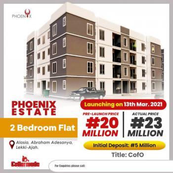 Luxury 2 Bedroom Terrace, Alasia, Abraham Adesanya, Ajah, Lagos, Terraced Duplex for Sale