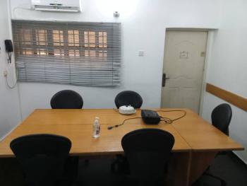 12 Sqm Office Space in a 5 Bedroom Semi-detached House, Frajend Street, Osborne Phase 1,, Osborne, Ikoyi, Lagos, Semi-detached Duplex for Rent