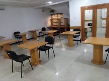 44sqm Furnished Shared Office in a 5 Bedroom Semi-detached House, Frajend Street, Osborne Phase 1, Osborne, Ikoyi, Lagos, Semi-detached Duplex for Rent