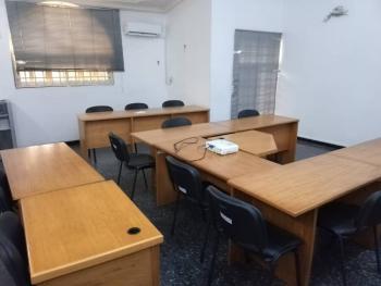 40.2sqm Serviced Shared Office in a 5 Bedroom Semi-detached House, Frajend Street, Osborne Phase 1, Osborne, Ikoyi, Lagos, Semi-detached Duplex for Rent