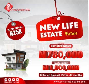 Land Available, New Life Estate, Atan Ota, Ado-odo/ota, Ogun, Mixed-use Land for Sale