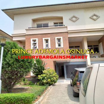 One of The Most Practical 4 Bedroom Semi Detached Houses in The Estate, Banana Island, Ikoyi, Lagos, House for Sale