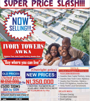 Govt Approved Estate Land in Serene  Location, Ivory Towers Mgbakwu, Awka, Anambra, Mixed-use Land for Sale