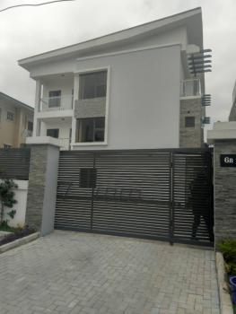 Newly Built Modern Serviced 4 Bedroom Terrace, Osborne 1 Forshore Estate, Osborne, Ikoyi, Lagos, Terraced Duplex for Rent