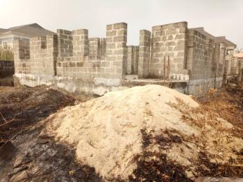 Carcass Duplex, Badore, Ajah, Lagos, Detached Duplex for Sale