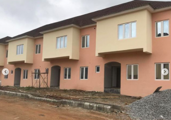 Newly Built Finished 3 Bedrooms & Bq with Mortgage and Payment Plan, 3 Mins From Federal Housing Bridge. Gwarimpa Extension, Karsana North, Karsana, Abuja, Terraced Duplex for Sale