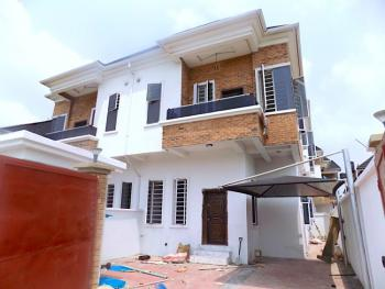 New House Large Compound 4 Bedrooms Semi Detached with Bq, Ikota, Lekki, Lagos, Semi-detached Duplex for Sale