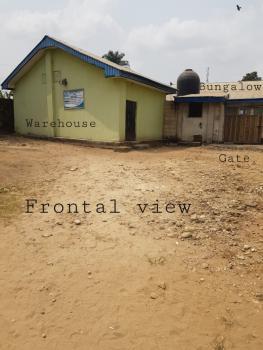 Big Warehouse, 6 Shops and 4 Bedroom Bungalow in a Gated Yard, Eda Street, Anua Offot, Uyo, Akwa Ibom, Shop for Sale