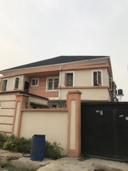 a Well Standard 2 Bedroom Flat, Well Secured Estate Behind Blenco Ogidan, Valley County Estate  Along, Ajah, Lagos, Flat for Rent