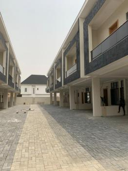 Luxury 4 Bedroom Duplex with Executive Facilities, Chevron Drive, Lekki Phase 2, Lekki, Lagos, Terraced Duplex for Rent