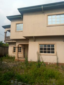 a Standard 4 Bedroom Duplex with Security House, Igba Estate, Rumuduru, Port Harcourt, Rivers, Detached Duplex for Sale