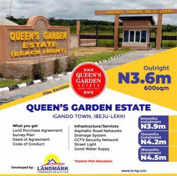 Serene Environment with Close Proximity to Nature, Queens Garden Estate, Igando Orudu, Ibeju Lekki, Lagos, Residential Land for Sale